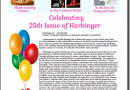 Harbinger 25th Edition